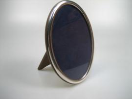 Zilveren Ovale Fotolijst uit een Privé Collectie Nederlandse Zangeres