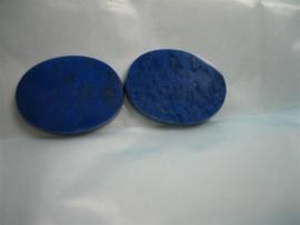 Lapis Laazuli zet ring stenen top kwaliteit uit ons atelier 2 stuks