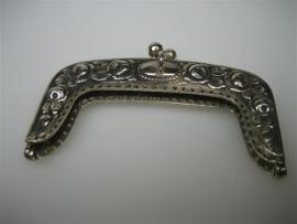 Antieke Zilveren Geld Tasbeugel ca.1890