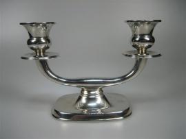 Antieke Zilveren Kandelaar ca. 1938