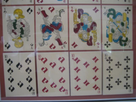 Antiek kaartspel Gravures Sur Bois Anonijmes 16e eeuw