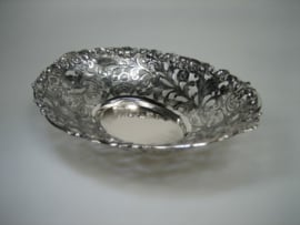 Antiek Zilveren Bonbon-schaal 1901/1943