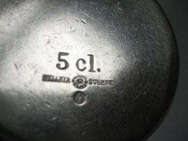 Wellner verzilverde melkkannetje ca.1930
