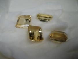 Goud Citrien van top kwaliteit uit ons atelier 4 stuks