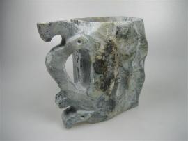 Antieke handgemaakt Marmeren Egyptische drinkbeker