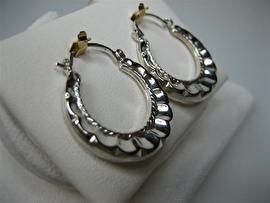 Zilveren Creolen uit een Collectie van Zweden