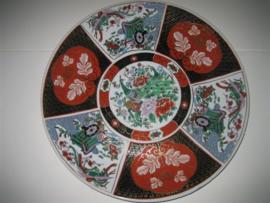 Antiek Imari Chinees Porseleinen Bord ca.1930