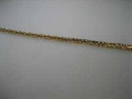 Antiek Gouden 14 krt. Konings collier met echte Tahiti Parels ca.1928