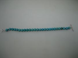 Antieke Turquoise  Baby armbandje