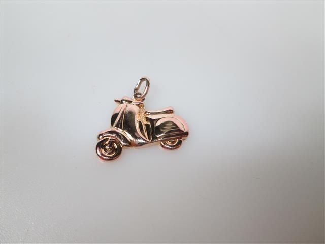 Doublé bedel als scooter nieuw