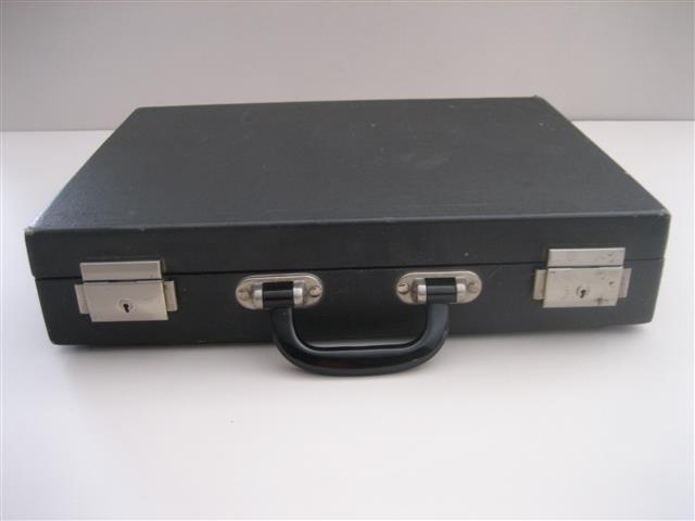 Zwart Koffer Voor BergenLederen Horloge Op Te Horloges 35 In P0wOnk