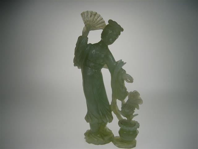 Jade oud Geisha beeld ca.1935