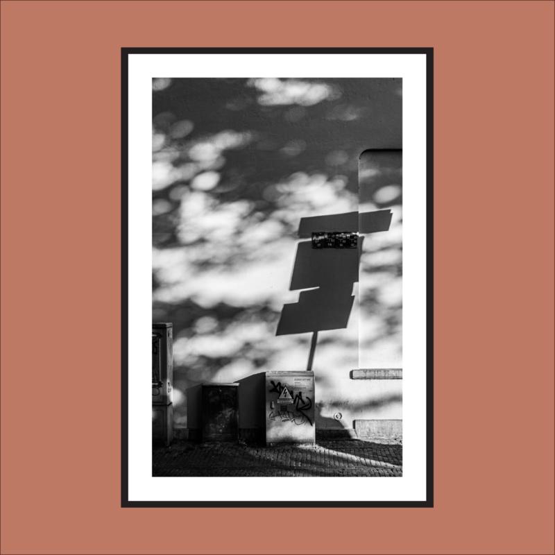Evening Light - met witrand