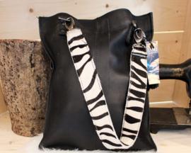 Shopaholic M zwart - Zebra
