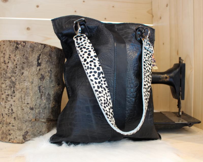 Shopaholic L zwart - Dalmatiër