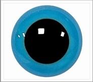 1 paar 8 mm ogen blauw
