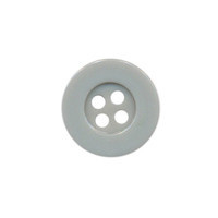 Button 10 mm grey