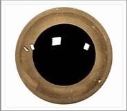 1 paar 10 mm ogen beige