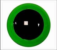 1 paar 8 mm ogen groen