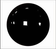 1 paar 9 mm ogen zwart
