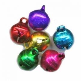 Bells 10 mm mix of colors (20 pieces)