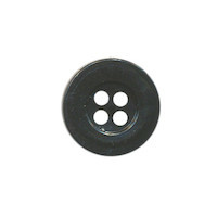 Button 15 mm black
