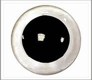1 paar 10 mm ogen kristal (transparant)