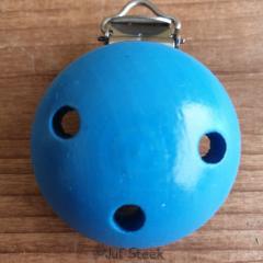 Speenclip Blauw 35 mm