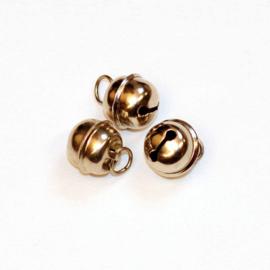 Zilveren Belletjes 13 mm met ophanghaakje per stuk