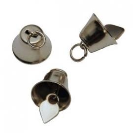 Klokvormige belletjes 16 mm met ophanghaakje per stuk