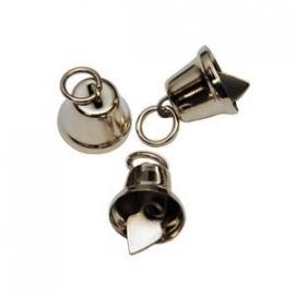 Klokvormige belletjes 13 mm met ophanghaakje per stuk