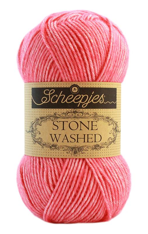 Scheepjes Stone Washed Rhodochrosite 835