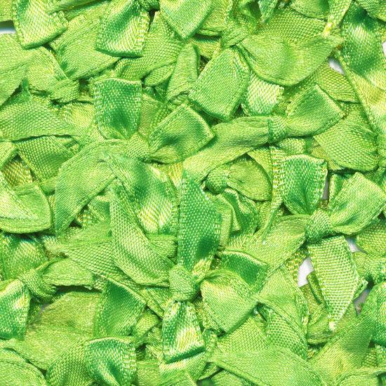 Apple green bow