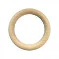 Houten ring 70 mm x 10 mm