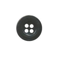 Knoop zwart 15 mm.