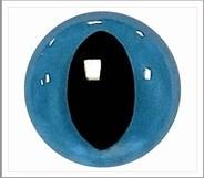 1 pair 12 mm cate eyes blue