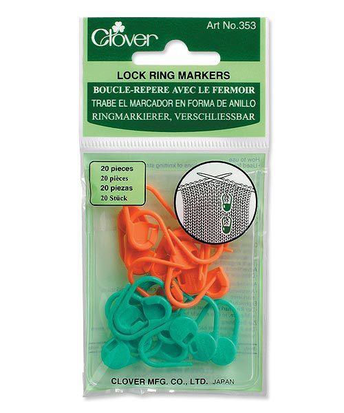 Clover Stitch Markers (20 stuks)