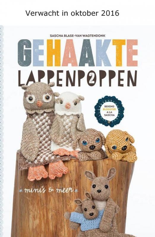 Gehaakte lappenpoppen 2  - Sascha Blase - Van Wagtendonk)