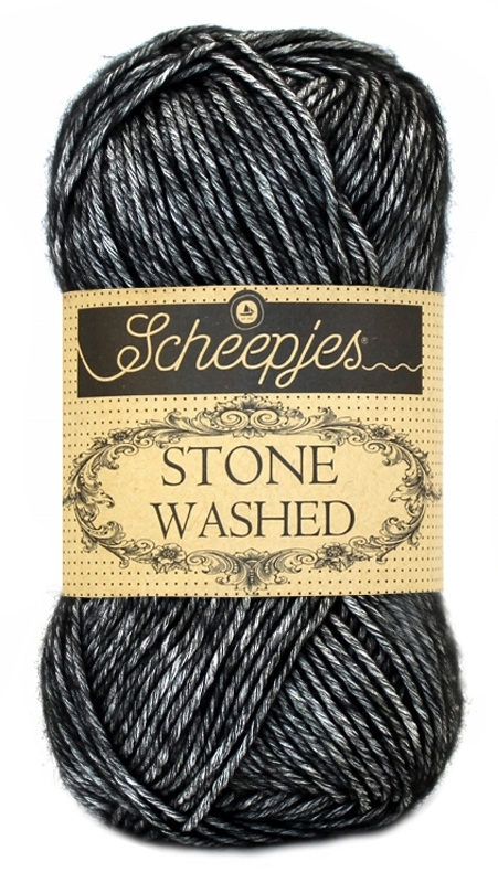 Scheepjes Stone Washed Black Onyx 803