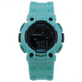 Coolwatch CW.275 digitaal horloge 35 mm 100 meter blauw