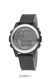 Nowley 8-6289-0-1 digitaal horloge 41 mm 100 meter zwart/ grijs