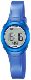 Calypso K5677/5 digitaal horloge 28 mm 100 meter blauw