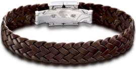 Lotus Style LS1206-2/2 armband 22 cm bruin