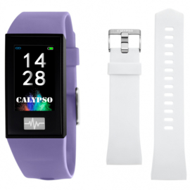 Calypso K8500/2 Smartime Fitness Tracker paars