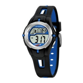 Calypso K5506/3 digitaal horloge 34 mm 100 meter zwart/ blauw