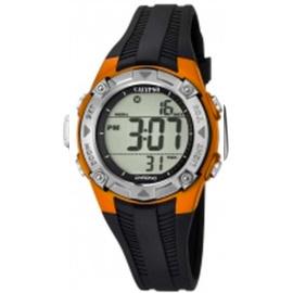 Calypso K5685/7 digitaal horloge 37 mm 100 meter zwart/ oranje