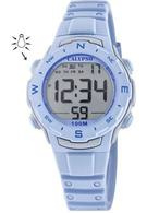 Calypso K5801/2 digitaal horloge 33 mm 100 meter blauw/ grijs