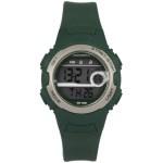 Coolwatch CW.341 digitaal horloge 34 mm 100 meter groen