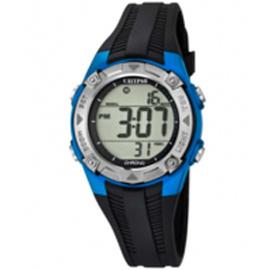 Calypso K5685/5 digitaal horloge 37 mm 100 meter zwart/ blauw