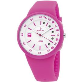 Nowley 8-6219-0-5 smartwatch 100 meter rose/ wit